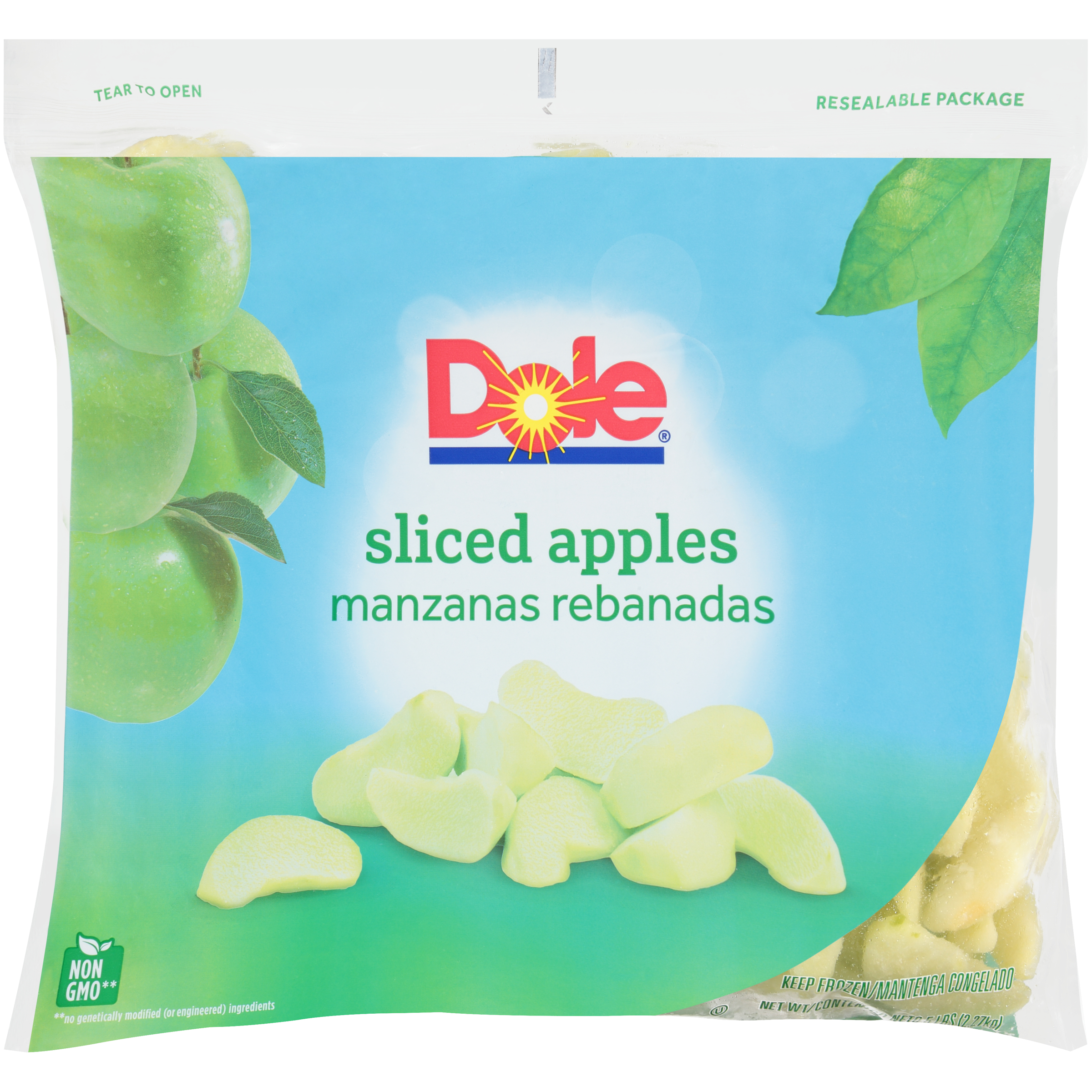 2/5# Apples, Sliced IQF