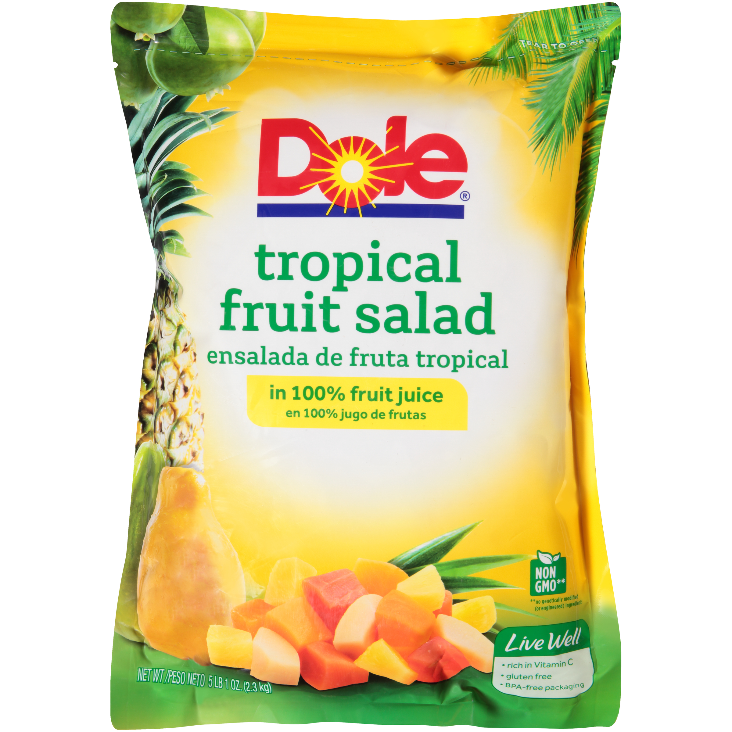 6/81 Oz. Tropical Fruit Salad In Juice